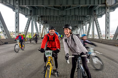 DSCF9929 (LEo Spizzirri) Tags: 99 bicycle bike bikes cascadebicycleclub emeraldcityride i5 jonathon mary race seattle viaduct
