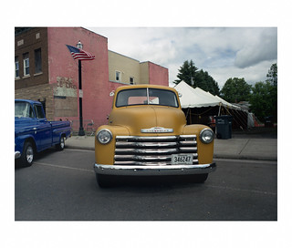 Chevy truck, and a bit of last summer