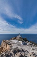 The lighthouse (Vagelis Pikoulas) Tags: light lightroom lighthouse santorini thira cyclades kyklades island islands greece europe holidays travel sea seascape landscape view blue sky winter 2018 january
