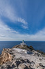 The lighthouse (Vagelis Pikoulas) Tags: light lightroom lighthouse santorini thira cyclades kyklades island islands greece europe holidays travel sea seascape landscape view blue sky winter 2018 january