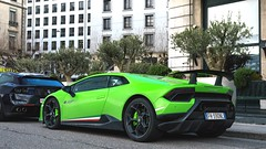 Italian Flag (Beyond Speed) Tags: switzerland geneva2018 geneva automobile automobili automotive auto limited spoiler green v10 nikon carspotting cars car supercar performante huracan lamborghini
