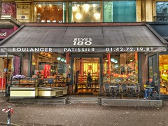 Paris France - Boulangerie Rêve 180 - Patissier (Onasill ~ Bill Badzo) Tags: paris france store front boulangerie reve 180 patissier canoy downtown restaurant place de la republique bakery lunch bread pastries baba onasill historic district tart must visit tourist travel europe snack cakes patio hdr see strawberry saint marc light canopy monuments