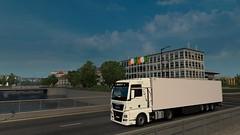 Dublin (DaveyY PhotoS) Tags: ets2 euro truck simulator 2 man tgx trucks kogel trailer dublin ireland thermo cool liner way road