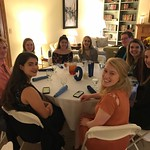 Dr. Richardson hosts Honors Dinner