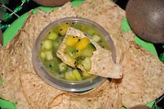 St. Paddy's Day Kiwi, Mango & Habanero Salsa 3 (rikkitikitavi) Tags: stpatricksday saintpatricksday stpaddysday chipssalsa kiwi mango habanero cilantro tortillachips