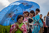 Cherry Blossom Festival, Hunington Beach, California (paccode) Tags: california d850 colorful candid street people umbrella costume urban posing huntingtonbeach unitedstates us