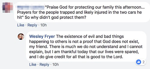 Why didn't God protect the other car pas by Wesley Fryer, on Flickr