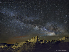 Milky Way at the Valley of Dreams 2 (jamesclinich) Tags: olympus omd em10 mzuiko714mmf28pro jamesclinich adobe photoshop sequator topaz denoise clarity detail stacked newmexico nm ahshislepah wilderness nighttime stars landscape sky hoodoo