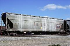 CB&Q Class LO-8A 184437 (Chuck Zeiler) Tags: cbq class lo8a 184437 burlington railroad covered hopper freight car cicero train chuckzeiler chz