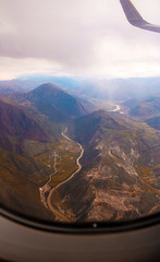 Above Peru (benjamin.t.kemp) Tags: peru mountain above colour landscape nature fromplane