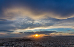 Urban sunset (Sotiris Papadimas) Tags: athens greece panorama lycabettus hill view sunset city sityscape ladscape colors colorful landscape sky clouds light travel travelicons