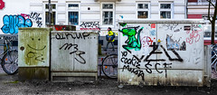 Streetart Miscellaneous 2422 (cmdpirx) Tags: hamburg germany reclaim your city urban street art streetart artist kuenstler graffiti aerosol spray can paint piece painting drawing character chari colour color farbe spraydose dose marker stift kreide chalk stencil schablone wall wand nikon d7100 cutout fun humor vandalism vandalismus tag tagging quote slogan spruch