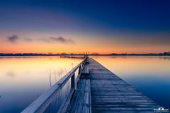 steg am see (picsandarts) Tags: 80d tamron sunrise landschaft steg see wasser seeburg canon bluehour seeburgersee pier blauestunde landscape sonnenaufgang water eos himmel sky lake