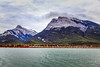 Middle Lake, Bow Valley, Canmore (aud.watson) Tags: canada alberta canadianrockies albertasrockies kananaskis canmore bowvalley bowvalleypark bowriver mountain mountains valley valleys mountainside cloud clouds sky water