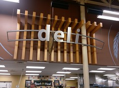 In other S'haven Monster Kroger news: the long lost deli sign returns! (l_dawg2000) Tags: 2012décor 2014remodelexpansion bountifuldécor coffee coffeeshop goodmanrd grocery grocerystore kroger labelscar renovation southaven starbucks mississippi unitedstates usa