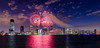 Jersey City Fireworks 5 (tuhindas1989) Tags: fireworks independanceday usaindependanceday cityscape cityskyline longexposure sky clouds 4thjulyfireworks jerseycity nj newjersey hudson fireworksreflection highrise cityandfireworks jerseycityfireworks travel travelphotography