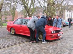 A Helping Hand (Andrew 2.8i) Tags: queen queens square bristol breakfast club show meet car cars classic sports coupe sportscar e30 german m3 bmw a6hdm
