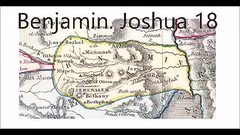 Benjamin. Joshua 18 (swhayward4) Tags: benjamin jerusalem jebusi survey land remained received inheritance joshua slack possess lord god given fathers through describe divide seven parts description cast lots charged gehenna hell molech walk shiloh went passed cities mountains wilderness luz bethel hill drawn corner sea city border waters valley bay salt dead coast jericho gibeon mizpeh