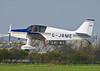 G-JRME Jodel D.140 (SteveDHall) Tags: aircraft airport aviation airfield aerodrome aeroplane airplane lightaircraft generalaviation ga blackpool blackpoolairport 2018 gjrme jodel d140 jodeld140