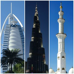 Must see in UAE (posterboy2007) Tags: uae burjkhalifa burjalarab sheihkzayedmosque dubai abudhabi architecture