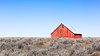 A Red Barn and a Blue Sky (John Westrock) Tags: barn farm bluesky clearsky landscape rural easternwashington washingtonstate pacificnorthwest canoneos5dmarkiii canonef2470mmf28lusm