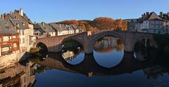 France : Espalion (AlCapitol) Tags: espalion france aveyron nikon d800 pont bridge reflet reflection river automne autumn