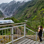 View to Franz Josef glacier from Sentinel Rock thumbnail