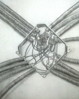 A veces dibujo cosas raras / sometimes I draw strange things ☺☺☺