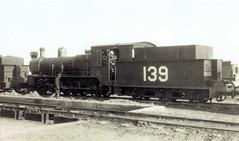 Iraq Railways - Iraqi State Railways 4-6-0 steam locomotive Nr. 139 (North British Locomotive Works, Glasgow 18113 / 1908) (HISTORICAL RAILWAY IMAGES) Tags: iraq railways isr steam locomotive العراق nbl glasgow northbritishlocomotive