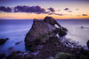 Cold Dawn (Augmented Reality Images (Getty Contributor)) Tags: portknockie bowfiddlerock coastline sunrise water scotland landscape nisifilters waves clouds morayfirth canon longexposure seascape rocks unitedkingdom gb