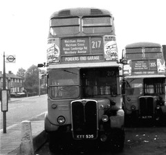 London transport RT1708  circa 1968 on route 217. (Ledlon89) Tags: rt rtbus aecregent parkroyal london bus buses lt lte londonbus londonbuses transport londontransport 1960s 1970s