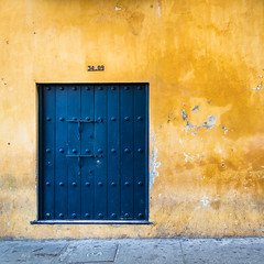 Cartagena Puerta Azul (Packing-Light) Tags: cartagena colombia southamerica travel latinamerica spanish wanderlust colorful vibrant culture door rothko portal