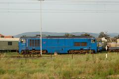 La 666 004 à Lapovo (Trains-En-Voyage) Tags: serbie zs666 lapovo zs