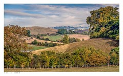 Austin Spring viewed from Magpie Bottom, Upper Austin Lodge, Eynsford, Kent. (Richard Murrin Art) Tags: austinspringviewedfrommagpiebottom upperaustinlodge eynsford kent england richard murrin art photography canon 5d landscape travel images building cool