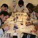 Atelier peinture au vin du Printemps des Vins de Blaye