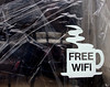 Free Wifi (only lines) Tags: mug coffee freewifi sign cafe folkestone
