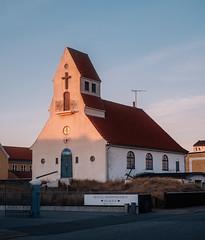 Svenska Sjömanskyrkan (Poul_Werner) Tags: danmark denmark skagen swedish 53mm aften church easter evening kirke night påske solnedgang sunset svensk northdenmarkregion dk