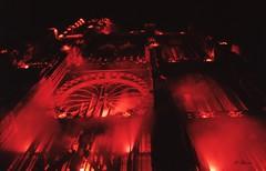 Illuminations de la Cathédrale de Strasbourg (Philippe_28) Tags: strasbourg alsace basrhin 67 france europe 24x36 argentique analogue camera photography film 135 cathédrale
