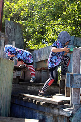 Climbing (quinn.anya) Tags: sam paul toddler preschooler climbing adventureplayground