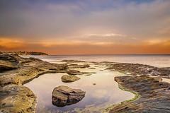 Sunset (nigelhowe) Tags: sunset seascape nsw