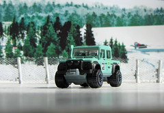 Hot Wheels HW HOT TRUCKS '15 Land Rover Defender Double Cab 2017 : Diorama  Winter Scene - 2 Of 16 (Kelvin64) Tags: hot wheels hw trucks 15 land rover defender double cab 2017 diorama winter scene