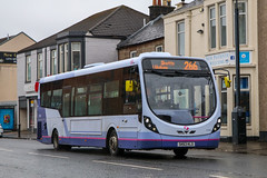 47465 SK63KLD First Glasgow (busmanscotland) Tags: 47465 sk63kld first glasgow sk63 kld wright streetlite df somerset avon
