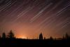 StarTrail (M.patrik) Tags: first startrail stars sky night move trees hightatras spring warm dslr nikon d3300 silhouette light pollution