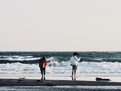 beach (osanpo_traveller) Tags: japan beach kamakura shonan olympus penf oldlens jupiter jupiter9 85mm 85mmf2