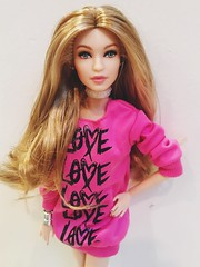 (zadolls) Tags: barbie collector model 2018 gigi hadid molde face new