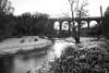 Eynsford Viaduct Kent (Adam Swaine) Tags: eynsfordvillage eynsford viaducts snow snowscenes counties countryside darentvalley riverdarent kent kentishlandscapes kentweald england english englishlandscapes britain british uk rural ruralkent hedges hedgerows winter