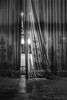Curtain in bnw (ronnymariano) Tags: 2018 theater lansdowne abandonded curtain pattern abandoned old bnw ripped fabric light