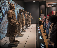 Terracotta Warriors, World Museum Liverpool (Pitheadgear) Tags: liverpool museum worldmuseumliverpool northwest merseyside lancashire uk artefacts archaeology warriors terracotta china chinese asian fareast ethnology military terracottawarriors
