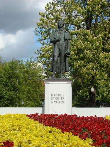 Памятник Шиллеру ©  ayampolsky