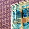 checks and counterbalances (msdonnalee) Tags: architecturaldetail architecturalabstract urbanabstract reflection reflisse reflexion refleccione reflexão abstractreality windowreflection window janela fenster ventana finestra fenêtre walldetail
